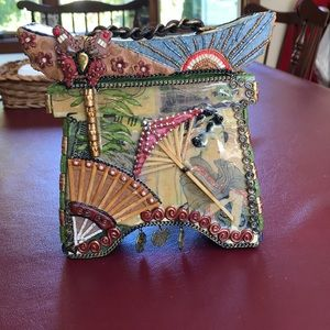 Mary Frances Box Bag
